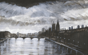 Winter skies - Parliament