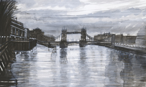 Looking towards Tower Bridge