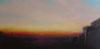 Winter sunset from Kelvingrove