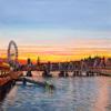 Winter sunset - Westminster